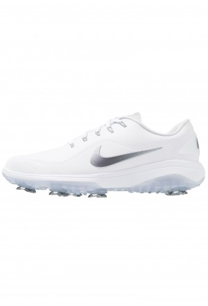 Nike Golf REACT VAPOR  - Golfschoenen white/metallic cool grey/blackNIKE203119