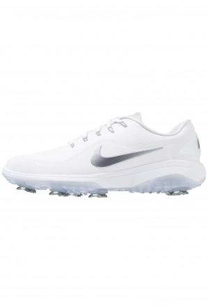Nike Golf REACT VAPOR  - Golfschoenen white/metallic cool grey/blackNIKE203119