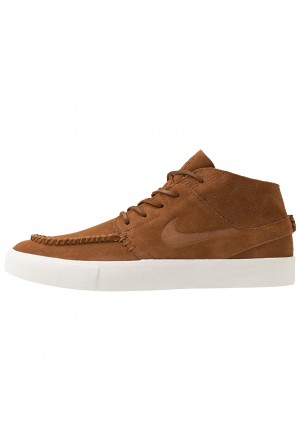 Nike SB ZOOM JANOSKI MID CRAFTED - Sneakers hoog light british tan/black/pale ivoryNIKE202445