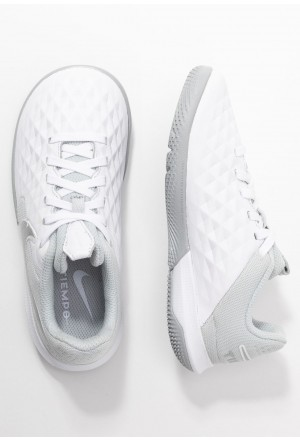 Nike LEGEND 8 ACADEMY IC - Zaalvoetbalschoenen white/chrome/pure platinum/metallic silverNIKE303755