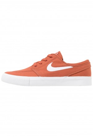 Nike SB ZOOM JANOSKI - Sneakers laag dusty peach/white/black/photo blue/hyper pinkNIKE202437