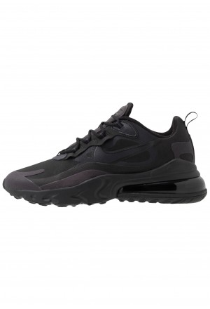 Nike AIR MAX 270 REACT - Sneakers laag black/oil grey/whiteNIKE202598