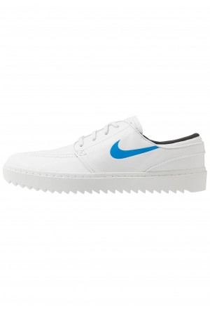 Nike Golf JANOSKI - Golfschoenen summit white/university blue/anthraciteNIKE203128