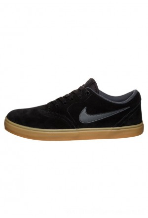 Nike SB CHECK SOLARSOFT - Skateschoenen black/anthraciteNIKE202664