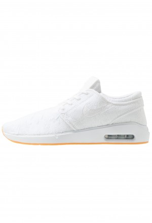 Nike SB AIR MAX JANOSKI 2 - Sneakers laag white/yellowNIKE202311