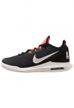 Nike AIR MAX WILDCARD CLY - Tennisschoenen voor kleibanen black/phantom/bright crimsonNIKE202980