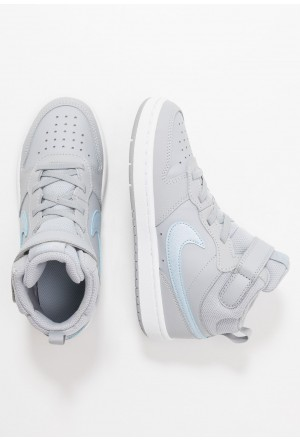 Nike COURT BOROUGH MID 2  - Sneakers hoog wolf grey/celestine blue/whiteNIKE303401