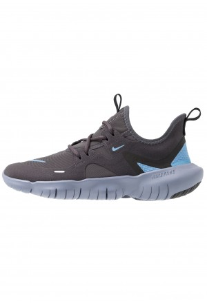 Nike FREE RN 5.0 - Loopschoen neutraal thunder grey/light blue/stellar indigoNIKE303778