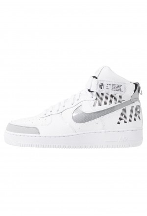 Nike AIR FORCE 1 - Sneakers hoog white/wolf grey/dark grey/blackNIKE202644