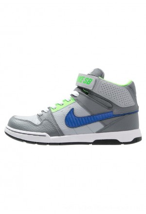 Nike SB MOGAN MID 2 - Sneakers hoog wolf grey/game royalNIKE303430