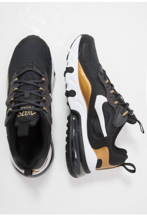 Nike AIR MAX 270 REACT - Sneakers laag anthracite/white/black/metallic goldNIKE303326