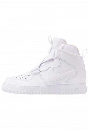 Nike AIR FORCE 1 BG - Sneakers hoog whiteNIKE303345