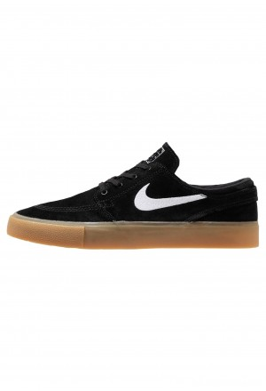 Nike SB ZOOM JANOSKI - Sneakers laag black/white/light brown/photo blue/hyper pinkNIKE202285