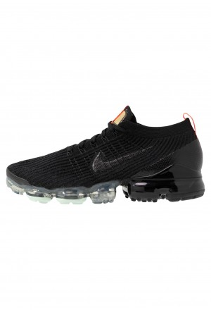 Nike AIR VAPORMAX FLYKNIT - Sneakers laag black/igloo/flash crimson/vast grey/dark greyNIKE202364