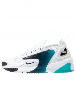 Nike ZOOM 2K - Sneakers laag white/blackNIKE202477