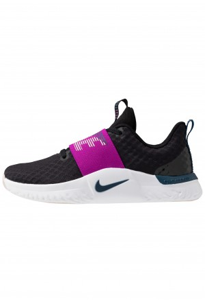 Nike RENEW IN-SEASON TR 9 - Sportschoenen black/valerian blue/vivid purple/barely rose/whiteNIKE101657