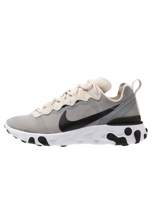 Nike REACT 55 - Sneakers laag light orewood brown/golden beige/white/black/yellowNIKE202561