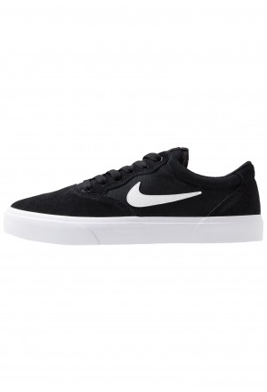 Nike SB CHRON SLR - Sneakers laag black/whiteNIKE202242