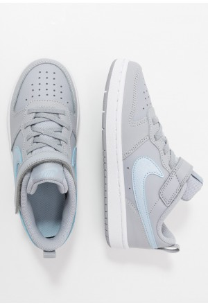 Nike COURT BOROUGH 2 - Sneakers laag wolf grey/celestine blue/whiteNIKE303228