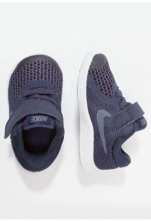 Nike REVOLUTION 4 - Hardloopschoenen neutraal neutral indigo/light carbon/obsidian/black/whiteNIKE303598