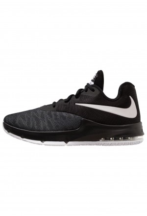 Nike AIR MAX INFURIATE III LOW - Basketbalschoenen black/white/dark greyNIKE202835