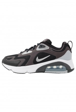 Nike AIR MAX 200 - Sneakers laag anthracite/metallic silver/black/white/wolf greyNIKE202386