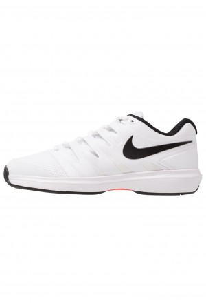 Nike AIR ZOOM PRESTIGE - Tennisschoenen voor alle ondergronden white/black/bright crimsonNIKE202996