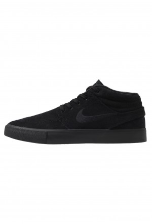 Nike SB ZOOM JANOSKI MID - Sneakers hoog black/photo blue/hyper pinkNIKE202497