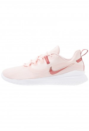Nike RENEW RIVAL 2 - Hardloopschoenen neutraal echo pink/light redwood/metallic red bronze/whiteNIKE101863