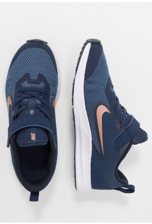 Nike DOWNSHIFTER 9  - Hardloopschoenen neutraal midnight navy/metallic red bronze/dark obsidianNIKE303582