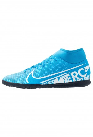 Nike MERCURIAL 7 CLUB IC - Zaalvoetbalschoenen blue hero/white/obsidianNIKE203151