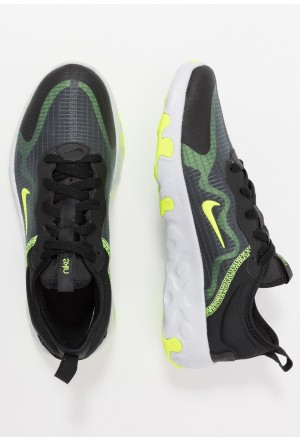 Nike RENEW LUCENT - Sneakers laag black/volt/pure platinum/dark greyNIKE303275
