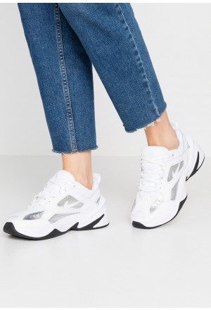 Nike TEKNO  - Sneakers laag - white/metallic silver/black white/metallic silver/blackNIKE101286