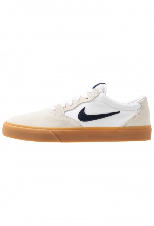 Nike SB CHRON SLR - Sneakers laag white/light brown/black/photo blue/hyper pinkNIKE202246