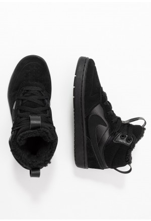 Nike COURT BOROUGH MID BOOT WINTERIZED - Skateschoenen black/whiteNIKE303126