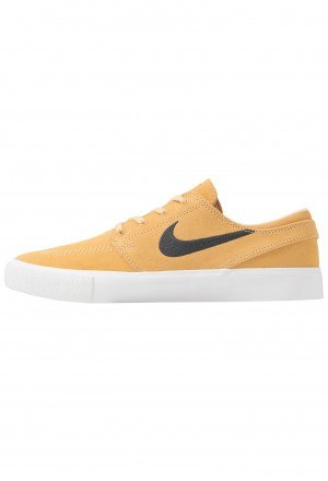 Nike SB ZOOM JANOSKI - Sneakers laag celestial gold/anthracite/summit white/light brown/photo blue/hyper pinkNIKE202284