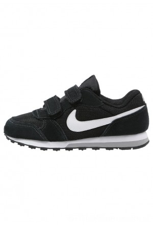 Nike MD RUNNER 2 - Sneakers laag black/white/wolf greyNIKE303234