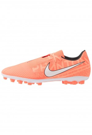 Nike PHANTOM ACADEMY AG - Voetbalschoenen met kunststof noppen bright mango/white/orange pulse/anthraciteNIKE202977