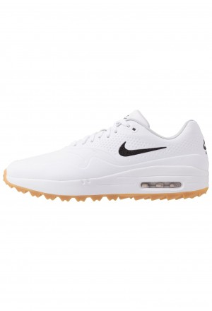 Nike Golf AIR MAX 1 G - Golfschoenen white/light brownNIKE203159