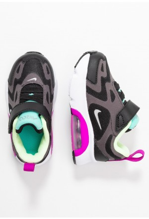 Nike AIR MAX 200 - Sneakers laag black/metallic silver/thunder grey/aurora green-hyper violet/barely voltNIKE303333