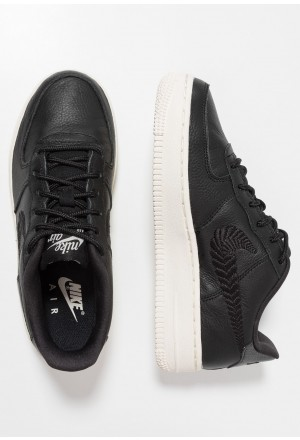 Nike AIR FORCE 1 PRM - Sneakers laag black/pale ivoryNIKE303504
