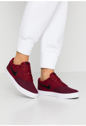 Nike SB CHECK SOLAR - Skateschoenen night maroon/black/team red/whiteNIKE101404