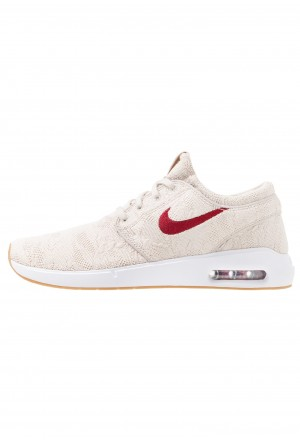 Nike SB AIR MAX JANOSKI 2 - Sneakers laag desert sand/team red/obsidianNIKE202310