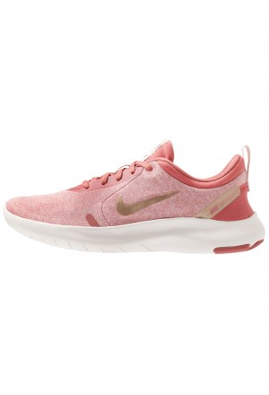 Nike FLEX EXPERIENCE RN 8 - Loopschoen neutraal light redwood/metallic red bronze/echo pink/light soft pinkNIKE101887