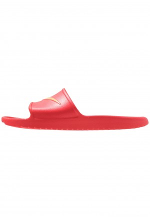 Nike KAWA SHOWER - Badslippers university red/metallic goldNIKE202696