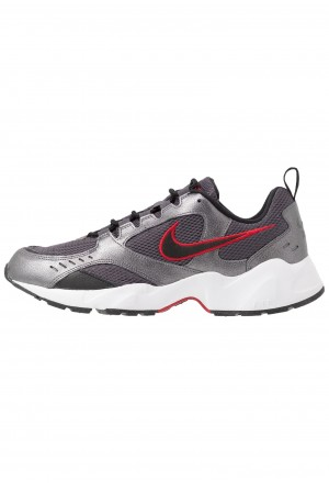 Nike AIR HEIGHTS - Sneakers laag thunder grey/black/metallic dark grey/gym red/whiteNIKE202350