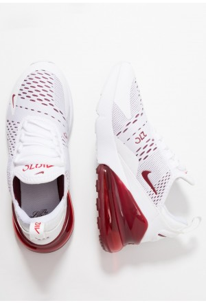 Nike AIR MAX 270 - Sneakers laag white/team red/challenge red/gym redNIKE303452