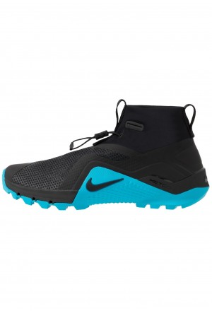 Nike METCON X SF - Trail hardloopschoenen black/light current blueNIKE203079
