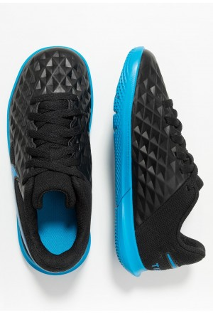 Nike LEGEND 8 CLUB IC - Zaalvoetbalschoenen black/blue heroNIKE303781