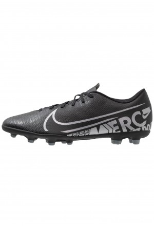 Nike MERCURIAL VAPOR 13 CLUB MG - Voetbalschoenen met kunststof noppen black/metallic cool grey/cool greyNIKE203019